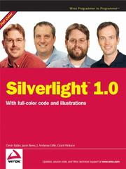 Cover of: Silverlight 1.0 |