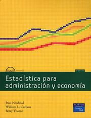Cover of: Estadistica para administracion y economia by Paul Newbold