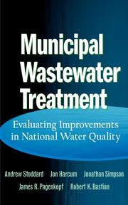 Cover of: Municipal Wastewater Treatment |