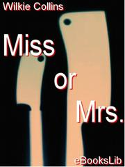 Cover of: Miss or Mrs |