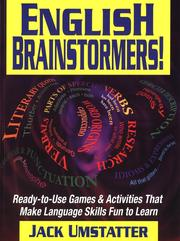 Cover of: English Brainstormers!