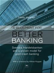 Cover of: A Blueprint for Better Banking |