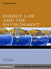 Cover of: Energy Law and the Environment |