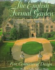 Cover of: The English formal garden