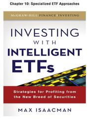 Cover of: Specialized ETF Approaches |