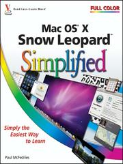 Cover of: Mac OS X Snow Leopard Simplified |