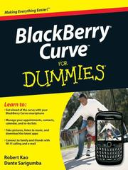 Cover of: BlackBerry Curve For Dummies |