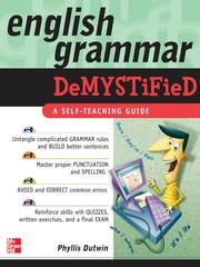 Cover of: English Grammar Demystified |