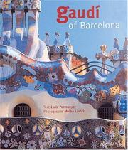 Cover of: Gaudi of Barcelona
