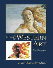 Cover of: A History of Western Art | Laurie Schneider Adams