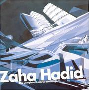 Cover of: Zaha Hadid | Zaha Hadid