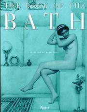 The book of the bath by Françoise de Bonneville