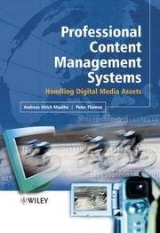 Cover of: Professional Content Management Systems |