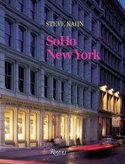 Cover of: SoHo, New York