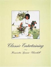 Cover of: Classic Entertaining | Henrietta Spencer-Churchill