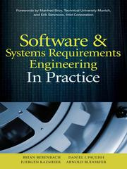 Cover of: Software & Systems Requirements Engineering