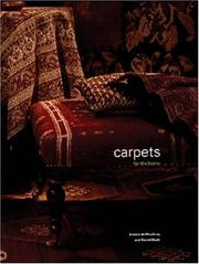 Cover of: Carpets for the home