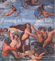 Cover of: Painting in Renaissance Italy
