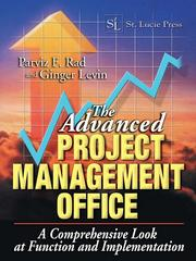 Cover of: The Advanced Project Management Office |
