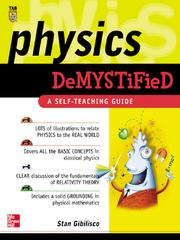 Cover of: Physics Demystified |