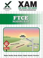 Cover of: FTCE Reading  K-12 |