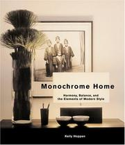 Cover of: Monochrome Home