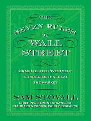 Cover of: The Seven Rules of Wall Street |