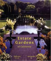 Cover of: Estate gardens of California