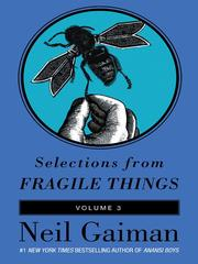 Cover of: Selections from Fragile Things, Volume 3 |