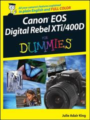 Cover of: Canon EOS Digital Rebel XTi/400D For Dummies |