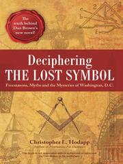 Cover of: Deciphering the Lost Symbol |