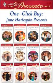 Cover of: One-Click Buy: June Harlequin Presents |