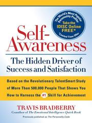 Cover of: Self-Awareness |