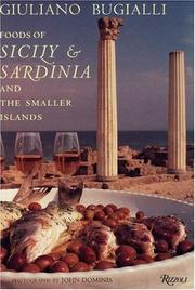 Cover of: Foods of Sicily & Sardinia and the Smaller Islands | Giuliano Bugialli