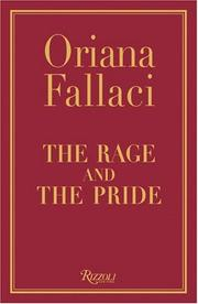 Cover of: The rage and the pride