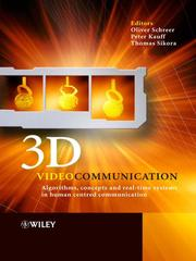 Cover of: 3D Videocommunication |