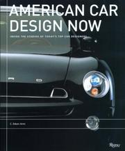 Cover of: American Car Design Now | C. Edson Armi