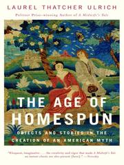 Cover of: The Age of Homespun |