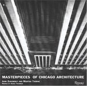 Cover of: Masterpieces of Chicago Architecture | John Zukowsky
