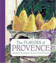 Cover of: Flavors of Provence | Isabelle de Borchgrave