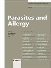 Cover of: Parasites and Allergy |