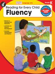 Cover of: Fluency, Grade K |