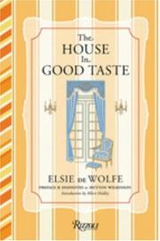 Cover of: The house in good taste