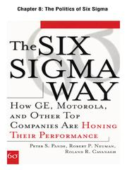 Cover of: The Politics of Six Sigma |