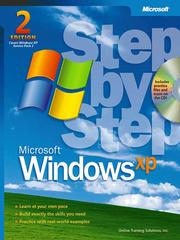 Cover of: Microsoft® Windows® XP Step by Step |
