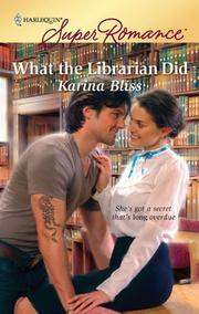Cover of: What the Librarian Did |