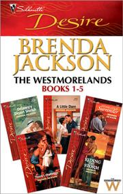 Cover of: The Westmorelands Books 1-5 |