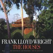 Cover of: Frank Lloyd Wright The Houses | Alan Hess