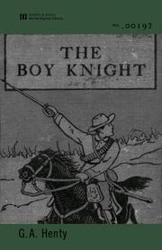 Cover of: The Boy Knight |