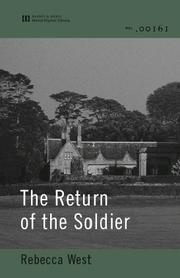 Cover of: The Return of the Soldier |